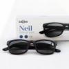 Babsee Zonneleesbril Neil Black +3.0