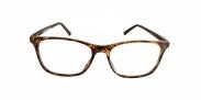 Fangle Biobased leesbril big mat havanna +3.0