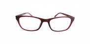 Fangle Biobased leesbril mat bordeaux +1.0