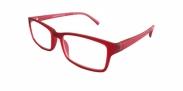 Fangle Biobased leesbril mat rood +2.5