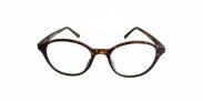 Fangle Biobased leesbril rond havanna +2.5