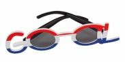 HIP Goalbrillen Rood/wit/blauw