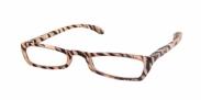 HIP Leesbril Tijgerprint recht +1.0
