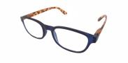 HIP Leesbril blauw/demi +2.5
