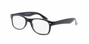 HIP Leesbril wayfarer glans zwart +1.5