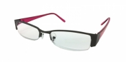 HIP Leesbril zwart/rood +2.0
