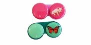 HIP Lenshouder Big & Vlinder Groen/Roze