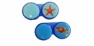 HIP Lenshouder Zeester & Goudvis Blauw/Oranje