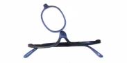 HIP Make-up bril blauw +4.0