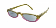 HIP Zonneleesbril groen/roze +2.0
