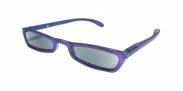 HIP Zonneleesbril paars +1.5