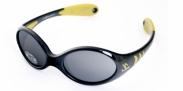 Kid Rider Kinderzonnebril zwart 6-24 mnd Zwart/geel