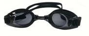 Zwembrillen Zwembril Kinderen zwart +8.00