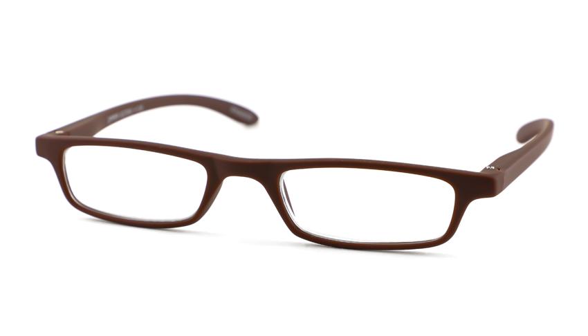 Leesbril INY Zipper G27200 mat bruin +3.00