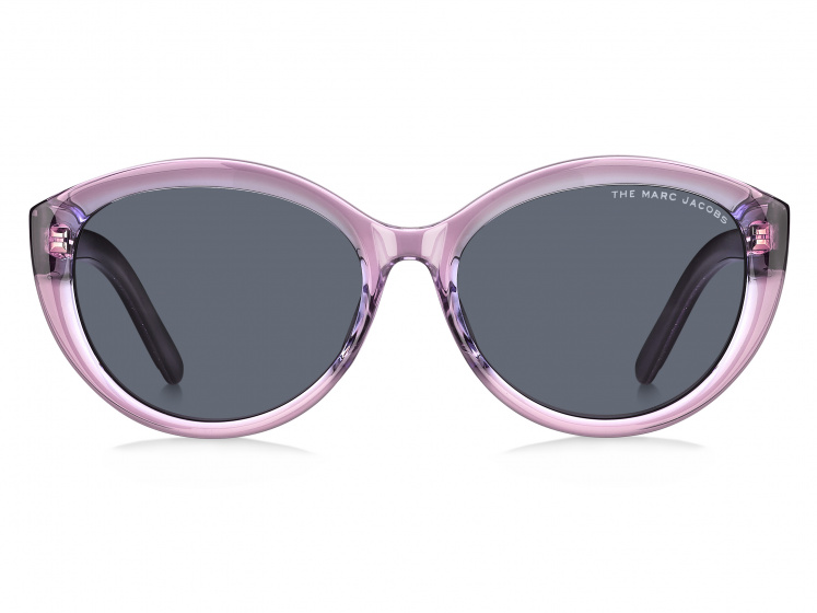 Marc Jacobs zonnebril dames Cat Eye zwart/paars transparant